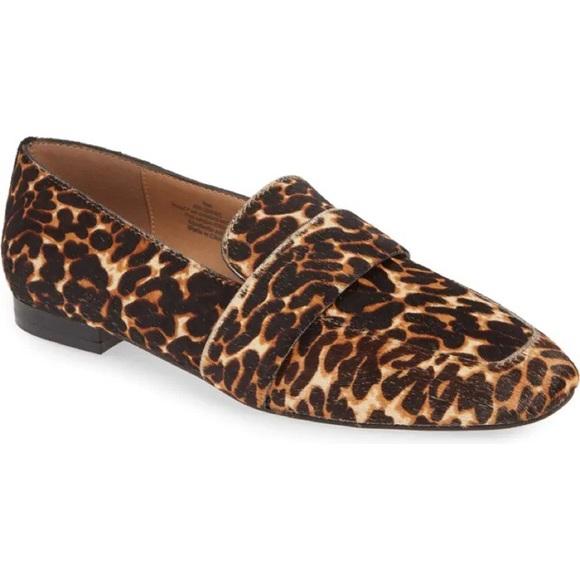 HALOGEN Genuine Calf Hair Loafer